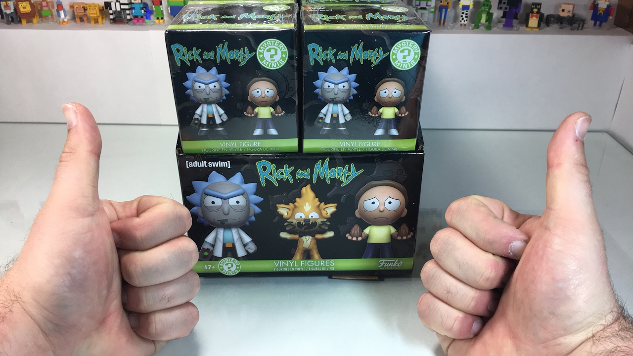 Funko Rick and Morty Blind Vinyl Figure Mystery Minis Blind Box Collectable