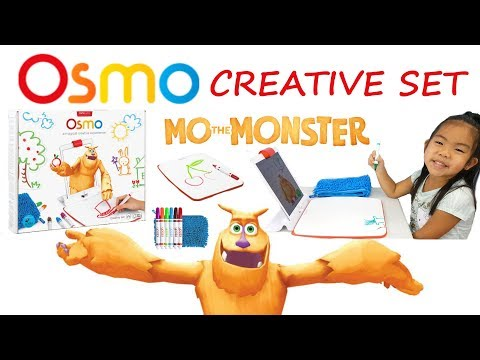 Osmo Creative Set with Monster App | Fun Interactive iPad Drawing App for Kids