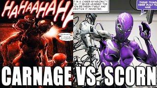 CARNAGE VS. SCORN & HYBRID SYMBIOTES │ Comic History