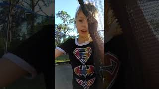 Katelynns first video for her YouTube fans, lol
