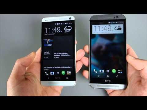 HTC One (M8) vs. HTC One (M7)