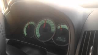 Toyota Corolla Verso 2006 132hp 160km/h Acceleration