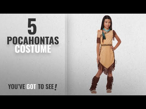 Top 10 Pocahontas Costume [2018]: California Costumes Native American Princess Child Costume,