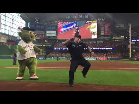Houston Astros' Dancing Security Guard