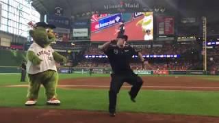 Houston Astros' Dancing Security Guard