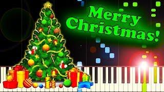 VINTAGE CHRISTMAS CAROL COMPILATION - Piano Tutorial
