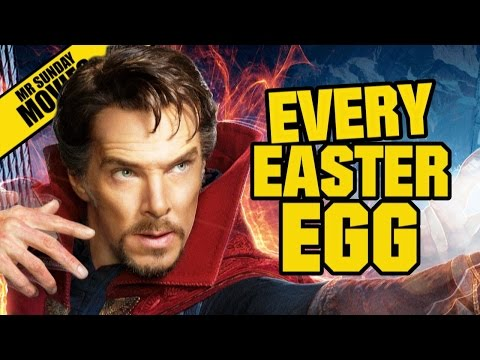 DOCTOR STRANGE All Easter Eggs, Cameos & References