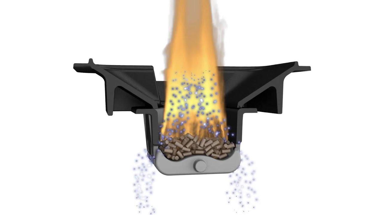 Fonctionnement du po le pellets granul s de bois ravelli naturel 7 youtube - Fonctionnement poele a granule ...