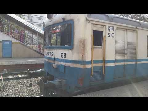 Hyderabad MMTS Train Departure at Begumpet