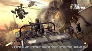 Battlefield Bad Company 2 : Avec un invité surprise! (Même pour lui)