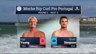 Moche Rip Curl Pro Portugal: R5, H2 Recap