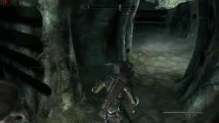Skyrim Забытая пещера