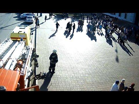 Эвакуация в ДК имени Добрынина