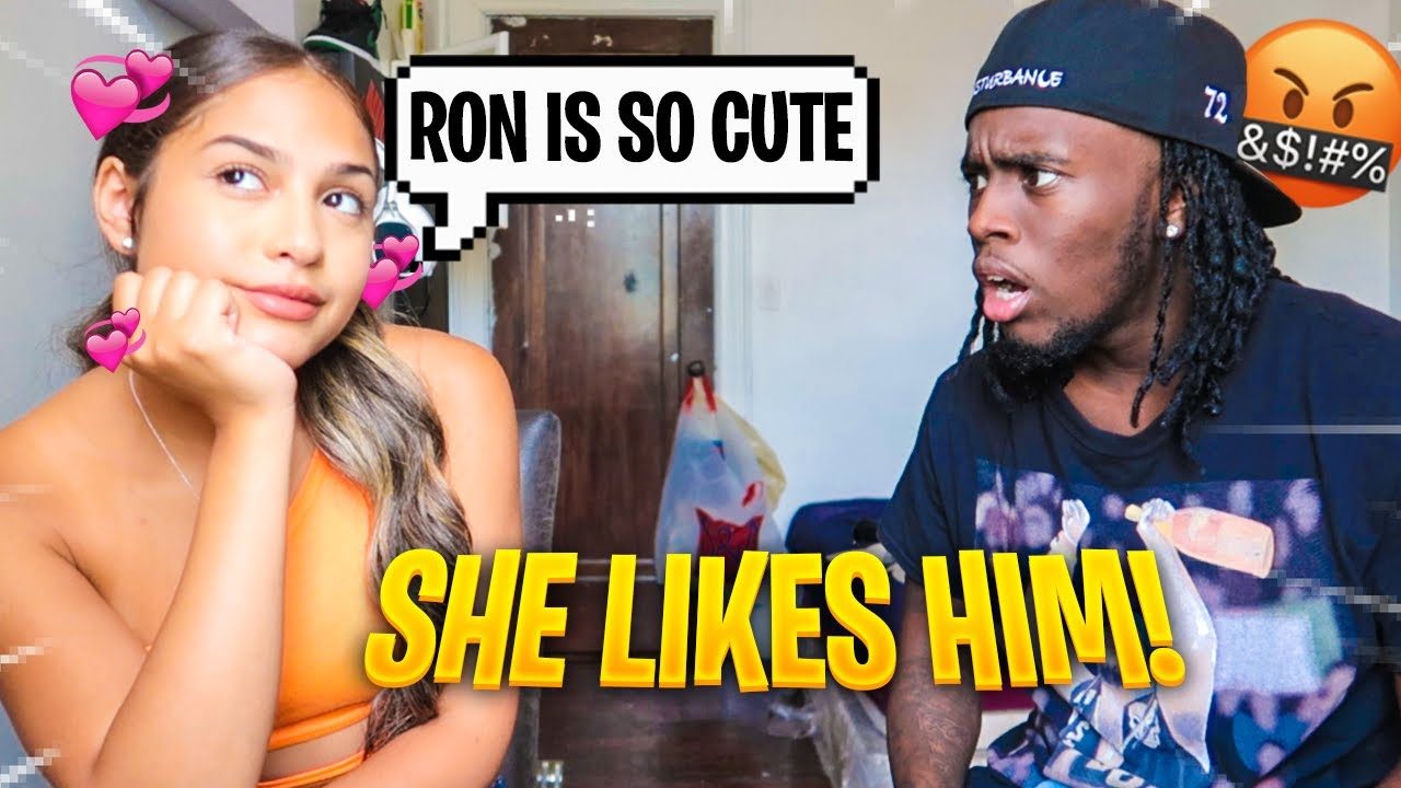 SHE HAS FEELINGS FOR RON SUNO.... *GETS HEATED*