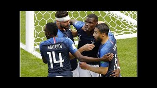 France 2 australia 1: pogba scores world cup's first var goal to secure win