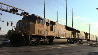 UP SD70M's in Dynamics - CSX Indianapolis