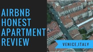 Gambar cover Honest Airbnb Apartment Review - Venice, Italy - LAGOONEYES