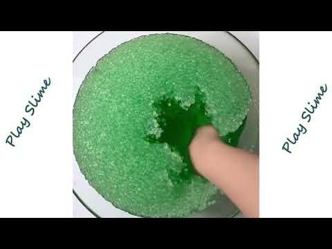 Расслабляющие слаймы видео #2  Слаймы инстаграм антистресс АСМР Satisfying  & relaxing slime video