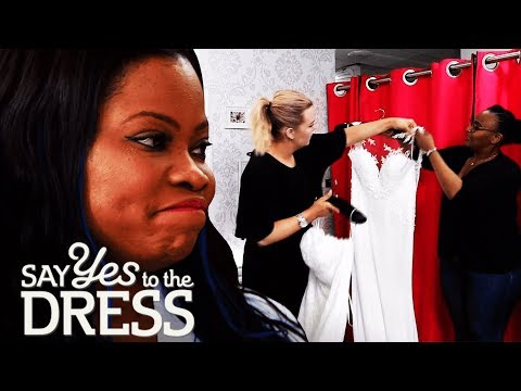 Picky Bride Has to Choose a Dress From the Sample Section   Say Yes To The Dress Uk