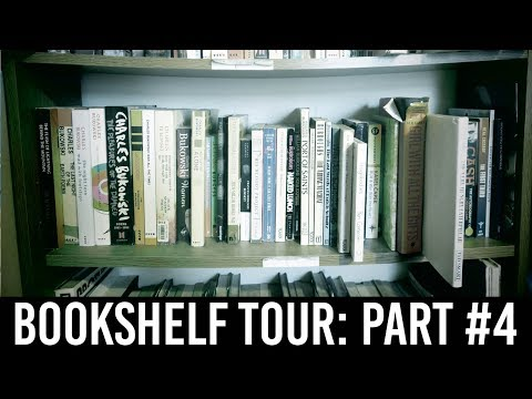 Bookshelf Tour Part #4: Charles Bukowski, William S. Burroughs, Lewis Carroll, More! [44 BOOKS]