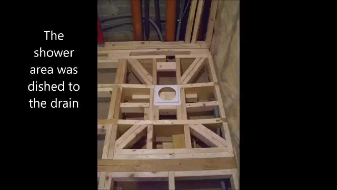 Fitting A Wet Room Upstairs
