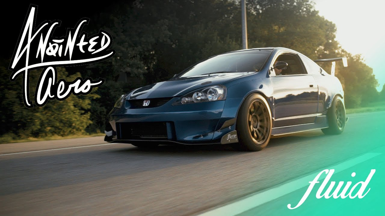 Custom Widebody K24 Powered Acura Rsx On Volks Anointed Aero