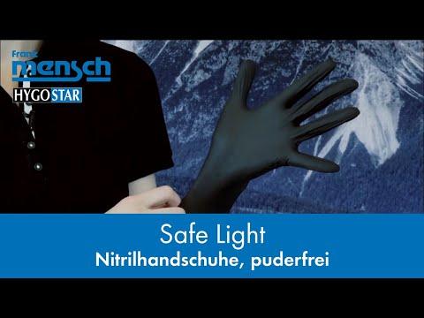 Günstige Nitril Einmalhandschuhe - SAFE LIGHT - Franz Mensch