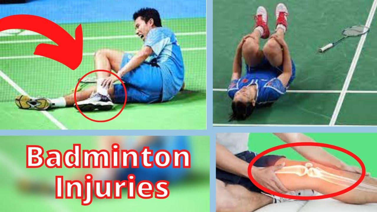2 Terrible Badminton Injuries