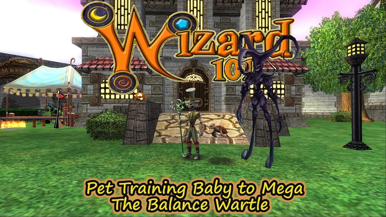Wizard101 Baby To Mega AWESOME Balance Wartle Pet of Trickster Jack by  Skelemystyk