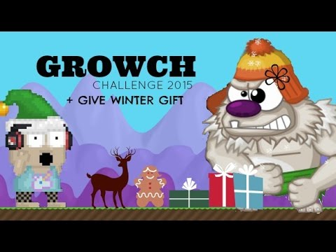 growtopia growch challenge give winter gift to youtube. Black Bedroom Furniture Sets. Home Design Ideas