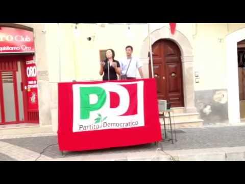 Comizio pd SMIL 20/06/2013 prima parte intervento Lucia La