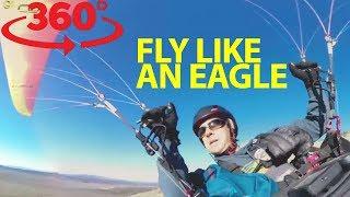Glide above Oregon's beautiful wilderness with Cedar Wright and Matt Henzi in VR thumbnail