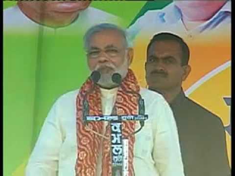 CM addressing Election Rally at Kangra in Himachal Pradesh