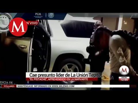"""Video de la captura del líder de La Unión Tepito, """"El Pistache"""""""