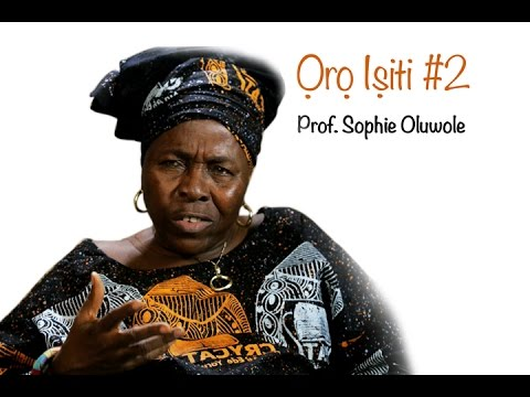 Ifa is a Scientific and Mathematical System? - 'Oro Isiti' with Prof. Sophie Oluwole #2