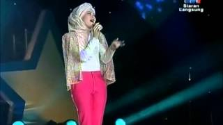 Adira - Hilang Live at Kuching(Bintang Kecil Final RTM)