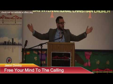 Free Your Mind To The Calling - Jason Dimitry