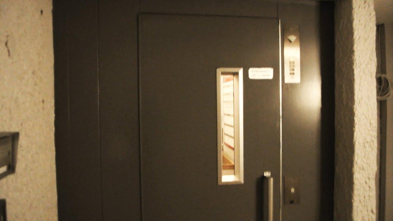 1974 KONE elevator with 3-speed inner doors - in Tromsø Norway - YouTube & 1974 KONE elevator with 3-speed inner doors - in Tromsø Norway ...