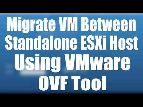 OVA\OVF | How to Migrate - Move VM between Standalone ESXi Host