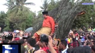 Ribuan Pendukung HBA EP Padati Ruas Jalan Kota Jambi