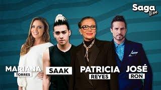 Patricia Reyes Spíndola, Mariana Torres, José Ron y Saak en #SagaLive con Adela Micha thumbnail