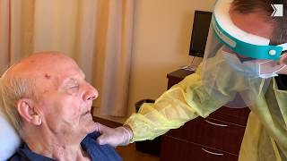 Take a look inside a COVID unit at an Ontario long-term care home
