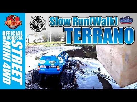 ミニ四駆 Nissan Terrano - Slow Pace Run[Walk] - 동영상