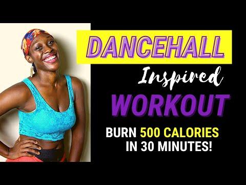 30Minute Dancehall Workout  #DanceFitness