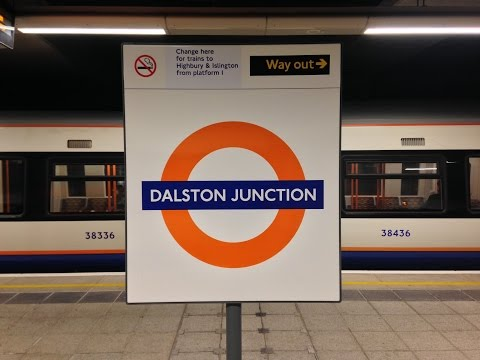 Full Journey on London Overground from Dalston Junction to New Cross