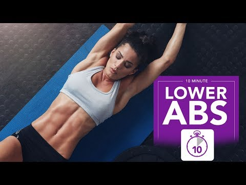 10 Minute Lower Abs (BRAND NEW EXERCISES!)