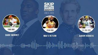 Dabo Swinney, NBA's return, Aaron Rodgers (6.9.20) | UNDISPUTED Audio Podcast