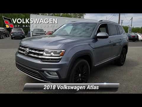 Certified 2018 Volkswagen Atlas 3.6L V6 SEL Premium, Monroeville, NJ P500572