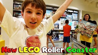 LEGO Creator Roller Coaster Early VIP Release at Disney Springs LEGO Store