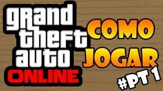 GTA V ONLINE - COMO JOGAR! ENSINANDO COMO CONSEGUIR CONECTAR. thumbnail